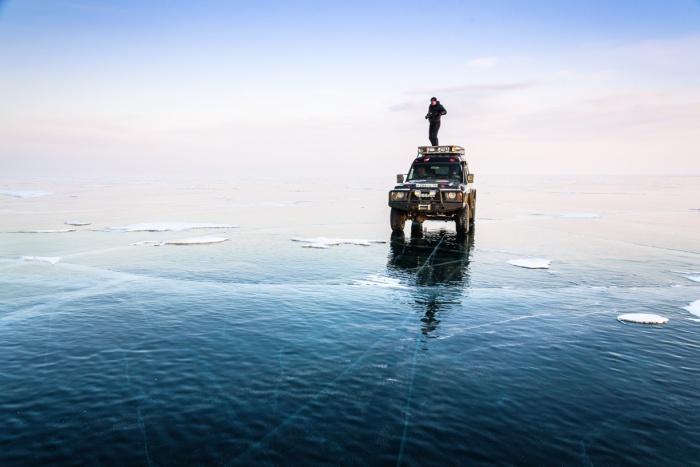 Кристальный лёд Байкала
