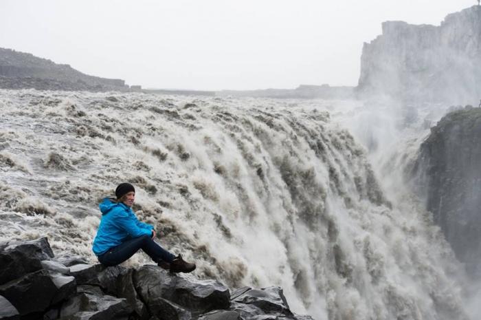 Iceland, Dettifoss waterfall